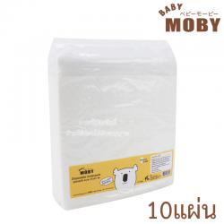 [10แผ่น] Baby Moby แผ่นรองซับฉี่ ใช้แล้วทิ้ง Disposable Pads