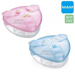 MAM กล่องแบ่งนมผง 3 ช่อง Milk Powder Box