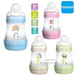 [5oz/160ml] MAM ขวดนมป้องกันโคลิคพร้อมจุกนม Easy Start Anti-Colic