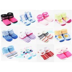 ถุงเท้าข้อพับเด็กแรกเกิด 0-6 เดือน Baby Socks