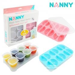 ชุดเก็บอาหารเสริม2in1 Nanny Fresh Baby Food Starter Set