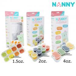 ภาชนะเก็บอาหารเสริมสำหรับลูกน้อย Nanny Baby Food Freezer Tray