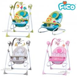 Fico เปลไฟ้ฟ้า รุ่น Renny Swing 2in1