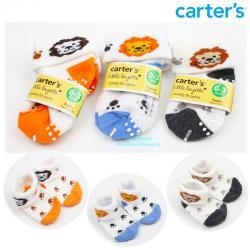 ถุงเท้าเด็กแรกเกิดลายสิงโต Carter's