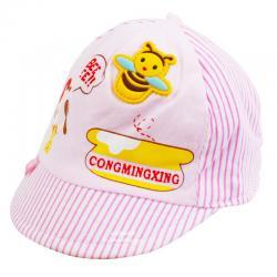 หมวกแก๊ปเด็กลายผึ้งกับหมี