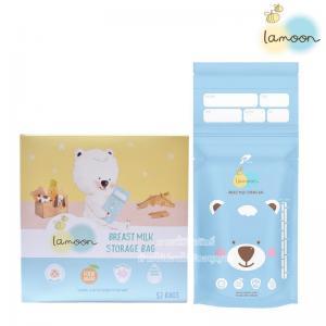 [กล่อง32ถุง] Lamoon ถุงเก็บน้ำนมแม่ 9 ออนซ์/250 มิลลิลิตร Breast Milk Storage Bag