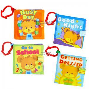 หนังสือผ้า สำหรับเด็กเล็ก ขนาดพกพา