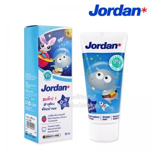 Jordan ยาสีฟัน สเต็ป 1 สำหรับฟันน้ำนม 50ml. [เด็กอายุ 0-5 ปี]