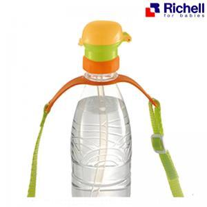 ฝาหลอดพร้อมสายคล้อง Richell Straw Bottle Cap with Strap