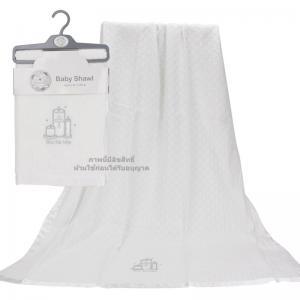 ผ้าห่มอะคริลิกทอลาย [92x127ซม.] Baby Shawl