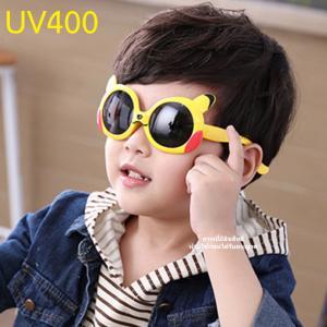 แว่นตาเด็กกันแดดซิลิโคนปิกาจู