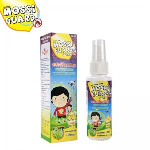 Mossi Guard สเปรย์ป้องกันยุง ผสมน้ำมันตะไคร้หอม Mosquito repellent with Citronella oil and Natural extract 60ml.