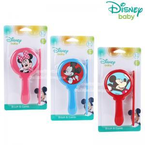 Disney Baby ชุดแปรงหวีผม มิกกี้ มินนี่ Brush & Comb