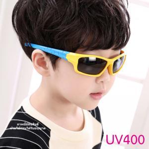 แว่นตาเด็กกันแดดซิลิโคนสี่เหลี่ยม YB