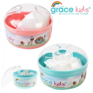 กระปุกแป้งฝุ่นขนนุ่ม Grace kids