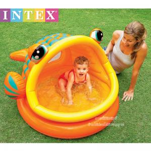 Intex สระน้ำเป่าลมรูปปลาสีส้ม [Intex-57109]