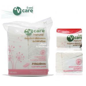 100pcs V-Care Cosmetic Pads สำลีแผ่น