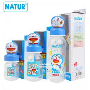 ขวดนม PP จุกนมรุ่นสไมล์ โดเรม่อน Natur Feeding Bottle