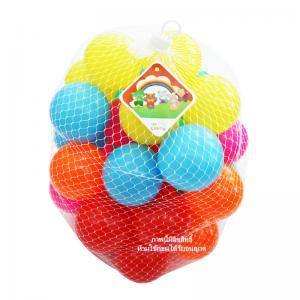 ลูกบอลหลากสี 40 ลูก ขนาด 3 นิ้ว