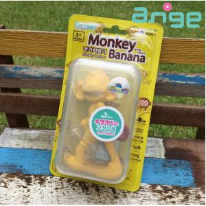 [ลิง] ยางกัดอังจู รุ่นพิเศษพร้อมกล่องและคลิป Ange Teether