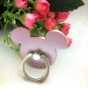 แหวนติดหลังมือถือสีโทนเมทัลลิค