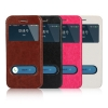 เคสมือถือ iPhone5, 5s-เคสหนังฝาพับมีช่องสไลด์ [Pre-Order]