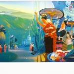 ภาพสำหรับประดับตกแต่งบ้าน ร้านสปา คอนโด โรงแรม รีสอร์ท RP - 03