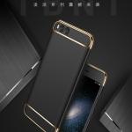 เคสมือถือ Xiaomi mi6 เคสประกอบสามชิ้นขอบทอง [Pre-Order]