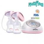 MumMom เครื่องปั๊มนมคู่ไฟฟ้า รุ่น MM-09 Electric twin breast pump [สินค้ารับประกัน 1 ปีค่ะ]