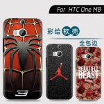 HTC One2 (M8) - เคสนิ้มลายการ์ตูน [Pre-Order]
