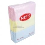 Nes's ผ้าอ้อมสาลูสามสี27×27''/12ผืน
