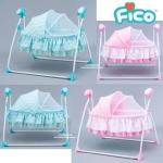 เปลไกวไฟฟ้า Fico รุ่น Cute Baby (SG237)