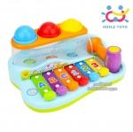 Huile toys ฆ้อน-ระนาดเสริมพัฒนาการ Enlightening & Intellectual Xylophone