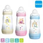 [9oz/260ml] MAM ขวดนมป้องกันโคลิคพร้อมจุกนม Easy Start Anti-Colic