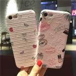 เคสมือถือ iPhone 6s เคสซิลิโคนสกรีนลายนูน3D [Pre-Order]
