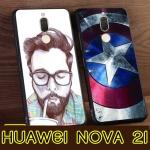 เคส Huawei Nova 2i เคสนิ่มพิมพ์ลายการ์ตูน ขอบดำ [Pre-Order]