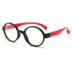 แว่นตาซิลิโคนเลนส์ใสสำหรับเด็ก ทรงกลม