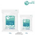 V-care สำลีก้อนอเนกประสงค์ 100% Purified Cotton Balls