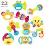 Huile Toys ของเล่นเขย่าเสริมพัฒนาการ 10 ชิ้น Baby Rattles