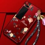 เคสมือถือ Meizu PRO7plus- เคสซิลฺดคนสกรีนลายดอกไม้+สายคล้อง [Pre-Order]
