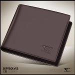 กระเป๋าสตางค์ผู้ชาย Septwolves No.773 (เพิ่มช่องบัตร)