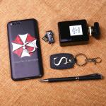 เคสมือถือ Xiaomi mi6 เคสซิลิโคนสกรีนลายการ์ตูน+ห่วงนิ้ว [Pre-Order]