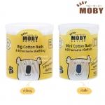 Baby Moby สำลีก้านกระดาษ Cotton Buds