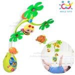 Huile Toys โมบายติดขอบเตียงเสริมพัฒนาการลายสัตว์ Infant Developmental Mobile