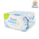 [80แผ่น][1แถม1] Pureen เบบี้ไวพส์ สูตรเพียวแอนด์มายด์ Pure&Mild Baby Wipes Gentle Fragrance