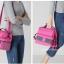 V-Coool กระเป๋าเก็บอุณหภูมิ รุ่นสีทูโทนพร้อมสายสะพาย [ร้อน-เย็น] thumbnail 26