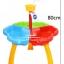 โต๊ะเล่นทราย 3 ช่องพร้อมอุปกรณ์ Sand Beach Set Toys thumbnail 3