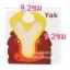แฟลชการ์ดไม้พร้อมตัวอักษร A-Z Early Education Wooden Card thumbnail 7