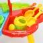 โต๊ะเล่นทราย 3 ช่องพร้อมอุปกรณ์ Sand Beach Set Toys thumbnail 16