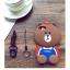 เคสมือถือ Vivo Y66 เคสซิลิโคนหมี3D (พรีออเดอร์) thumbnail 13